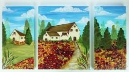 Set of High Def Landscapes on Canvas