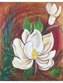Magnolia on Canvas