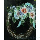 Flower Wreath Painting in High Def